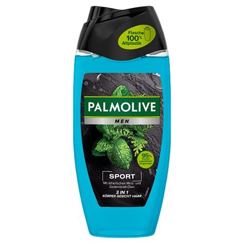 Palmolive Men Duschgel Revitalising Sport 3in1 für Körper, Gesicht & Haar, 6er Pack (6 x 250 ml) - Duschgel für Männer für ein angenehmes Frischegefühl den ganzen Tag