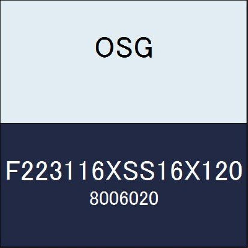 帆葉を拾う火山学者OSG カッター F223116XSS16X120 商品番号 8006020