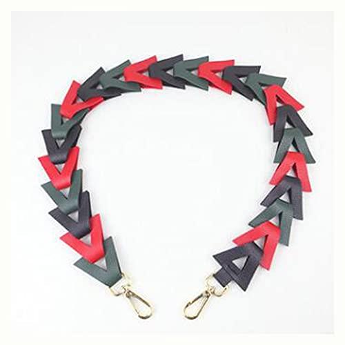 LEPSJGC Mujeres Straps Straps Cuchillo de Cuero Bolsa de cinturón Manijas Handles Bolsos Accesorios de Punto Piezas para Bolsas (Color : A)