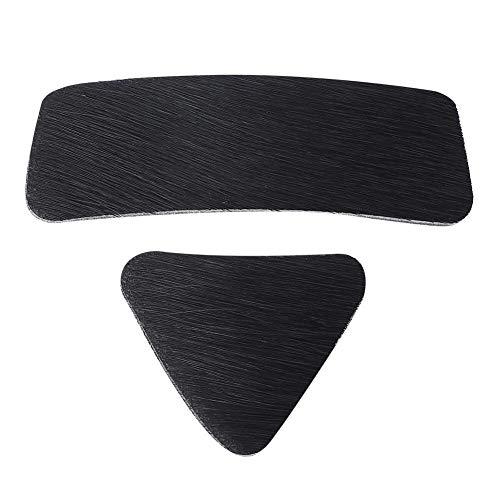 DEWIN 2Pcs Arrow Rest Pad, Adhesive Recurve Bow Arrows Rest Sticker para Caza Accesorios de Tiro con Arco Piezas