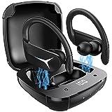 Cuffie Bluetooth Sport AOVOCE Auricolari Bluetooth 5.1 Senza Fili con Microfono Stereo Hi-Fi Cuffiette...