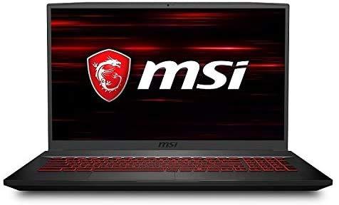 2020 MSI GF75 Thin Gaming Laptop: 10th Gen Core i5-10300H, 512GB SSD, 17.3' Full HD 120Hz Display, NVIDIA GTX 1650, 8GB RAM