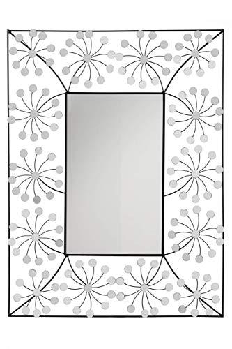 Premier Housewares Floret Wandspiegel, Metall