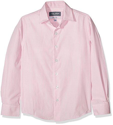 G.O.L. Jungen Haifischkragen, Slimfit Hemden, Rosa (Rose 72), 134