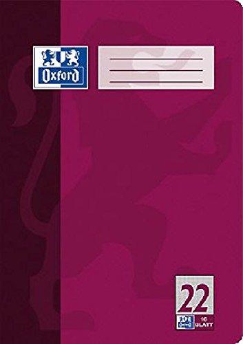 Oxford Heft A4 Lin. 22/384401622 DIN A4 4-fach sortiert 22 - kariert 5mm 90 g/qm