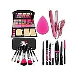 Best Makeup Kits - LUJO Makeup Brush with makeup 6155 kit, Studio Review