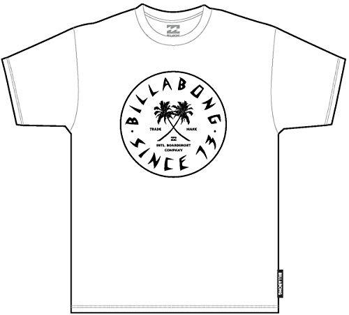 BILLABONG Tendencies SS Camiseta, Blanco (White 10), One Size (Tamaño del Fabricante: L) para Hombre