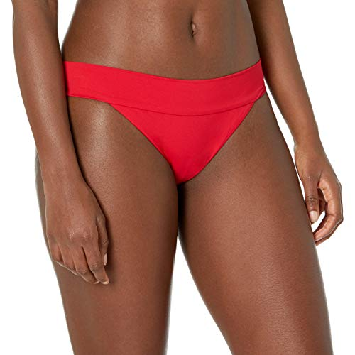 BILLABONG Damen Sol Searcher Tropic Bikini Bottom Bikinihose, rubinrot, Small