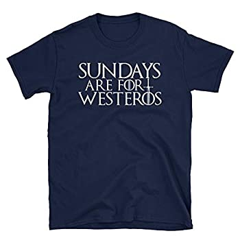 Sundays are for Westeros Shirt Men and Women Unisex Fit Navy