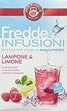 Pompadour Fredde Infusioni Lampone & Limone - 18 filtri - (confezione da 3)