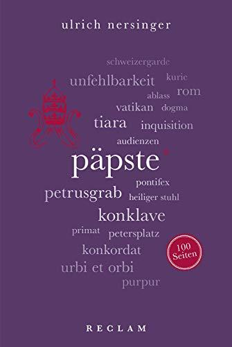 Päpste. 100 Seiten: Reclam 100 Seiten