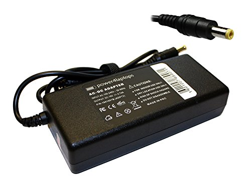 Power4Laptops AC Adapter Laptop Charger Power Supply Compatible With Packard Bell EasyNote TE11HC