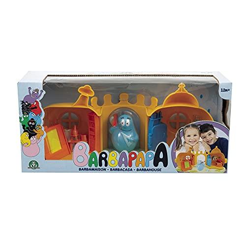 Barbapapa, Barbamaison, Grande Maison avec 1 personnage inclus, Se connecte aux autres coffrets, Jouet pour enfants dès 2 ans, BAP15