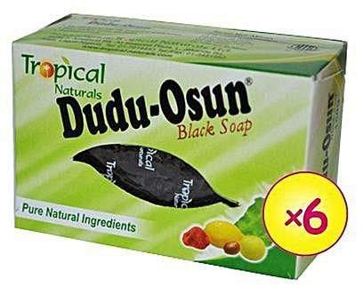 Dudu-Osun - Schwarze Seife aus Afrika (6 x 150 g)