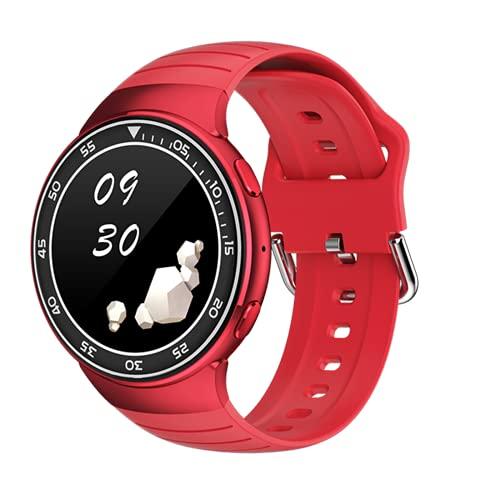 LJMG Reloj Inteligente, Reloj Completo De Hombres Y Táctiles, IP67 Impermeable, Deportes, Ritmo Cardíaco, Auriculares Inalámbricos, Carga De Solenoide De Marcación Personalizada Bluetooth,A