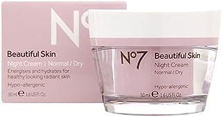 No7 Beautiful Skin Night Cream For Normal / Dry Skin 50Ml by No. 7