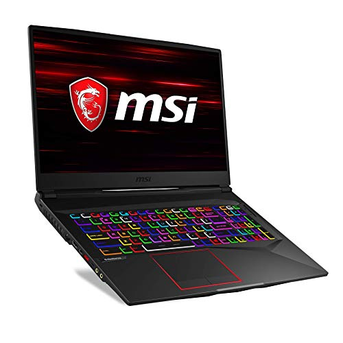 MSI GE75 9SF-419DE Raider (43,9 cm/17,3 Zoll/144Hz) Gaming-Notebook (Intel Core i7-9750H, 16GB RAM, 512GB PCIe SSD + 1TB HDD,  Nvidia GeForce RTX2070 8GB, Windows 10 Home)
