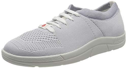 Berkemann Damen Allegra Sneaker, Grau (Grau/Weiß 686), 41.5 EU