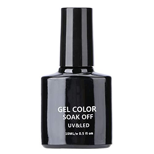 Esmalte de uñas Gel UV Esmalte de uñas Pegamento reforzado Gel de larga duración Gel de sombreado Primer de uñas Manicura Herramienta de bricolaje(01#)