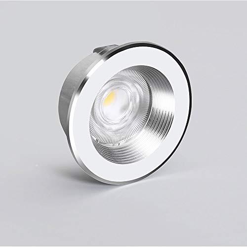 Hines Mini LED Downlight Lámpara de Techo de Lujo para Interiores Aluminio Creatividad Industrial Down Light 3W / 5W Accesorios Foco Café Sala de Estar Lámpara de Panel Foco Empotrado