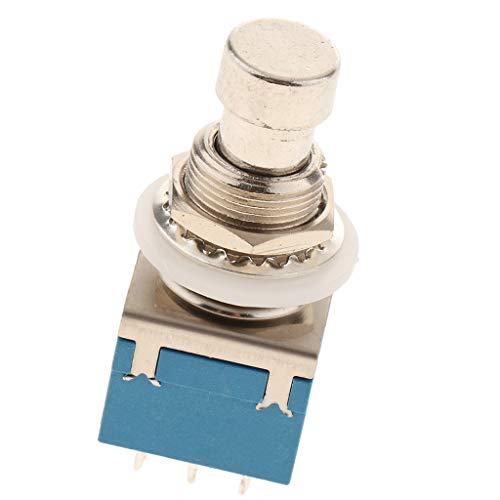 Fußschalter Fusstaster Pedalschalter Trittschalter mit Pedal und Effektbox Verbinden, ca. 38 x 20 x 20 mm - Blau