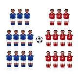 yotijar Foosball Men Table Man Player Miniature Football Players Figure Tournament Sport Style 1