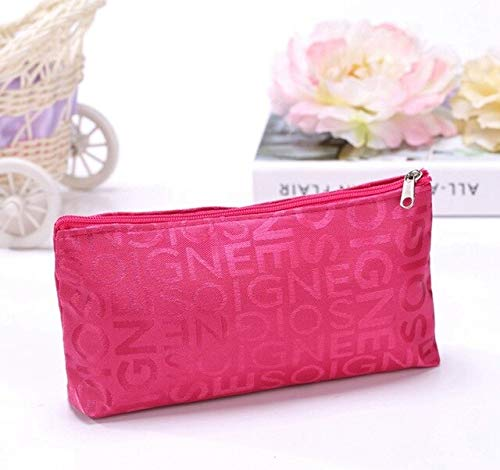 Best Quality - Cosmetic Bags & Cases - fashion portable cosmetic bag beauty zipper travel make up bag letter makeup case pouch toiletry organizer women wash holder - by NOEL - 1 PCs