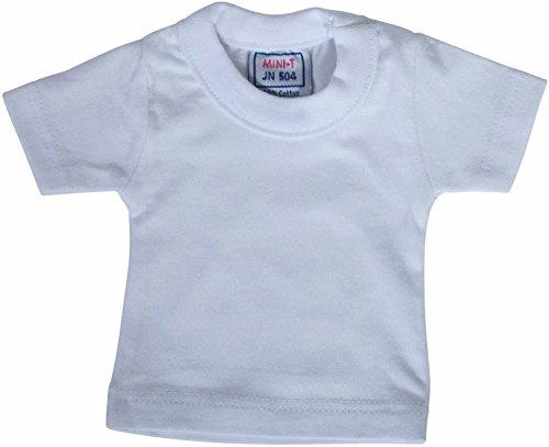 Mini T-Shirt (Angebot gilt ohne Teddybär), Größe:One Size;Farbe:White