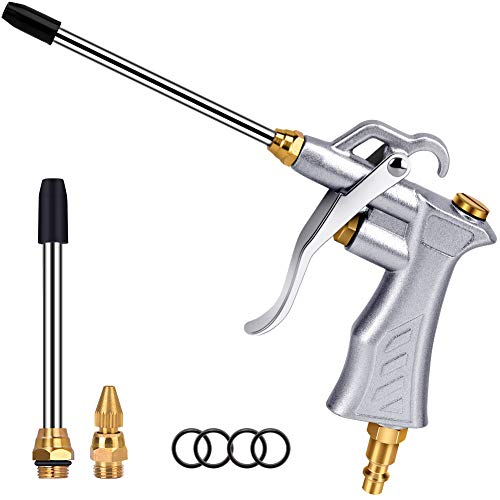 Professional Air Blow Gun with Copper Adjustable Air Flow Nozzle