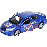 Toyota Corolla Sport Diecast Toy Car - 1/36 Scale Metal Model Cars in Display Box - Russian Collectible Toys