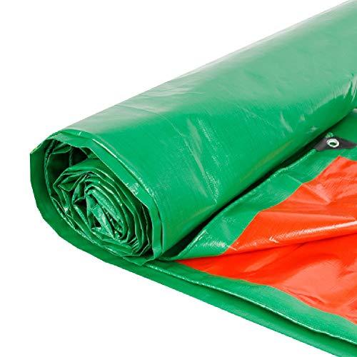 YXX-Abdeckplane Wasserdichte PE-Planen for Dachzelte for Camping im Freien, Hochleistungsplanen mit Ösen, leicht, 190 G/m² (Size : 4mx5m)