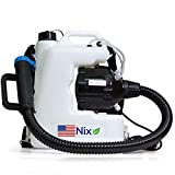Product Image of the The Nix Co. USA 12L Fogger Machine Disinfectant-110V Backpack Fogger Portable ULV Fogger Electric Atomizer Sprayer, Mosquito, Bug, Flea, Roach, Insect Fogger Indoor Outdoor Sprayer USA Company