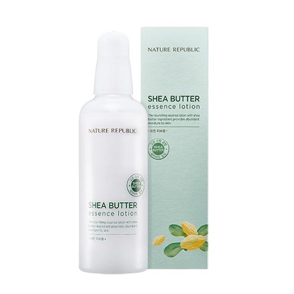 テスト酸度アンプNATURE REPUBLIC Shea Butter Essence Lotion ネイチャーリパブリック シェアバターエッセンスローション [2017 NEW] [並行輸入品]