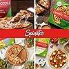 SPINATO'S Frozen Gluten Free Pizza, Healthy & Delicious, Plant Based, Broccoli Crust Pizza (10 inch - 4 Pack Asiago, Romano, Mozzarella) #2