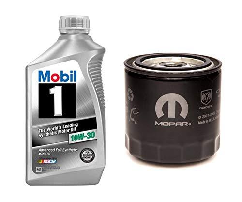 Mobil 1 Advanced Full Synthetic Motor Oil 10W-30,...