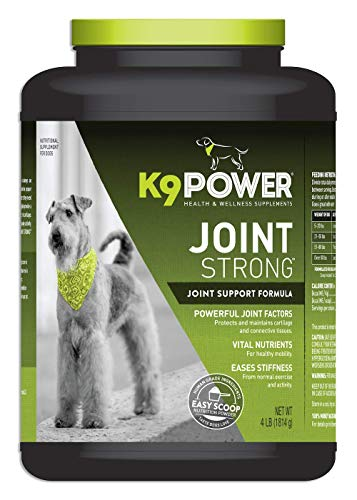 K9 Power Joint Strong - Joint Support Formula for Your Dog's Joint Health & Mobility - 4 lb