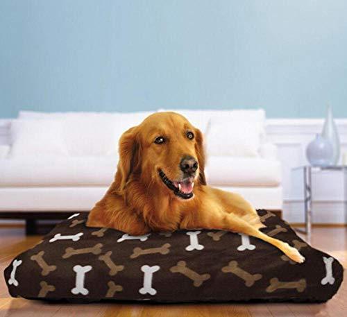 Kennelpet Grote Hondenmand Warm Stoelhoes Kennel Zacht Fleece Hondenpuppies Kitten Hondenhok Grote Hondenmand Afneembaar En Wasbaar