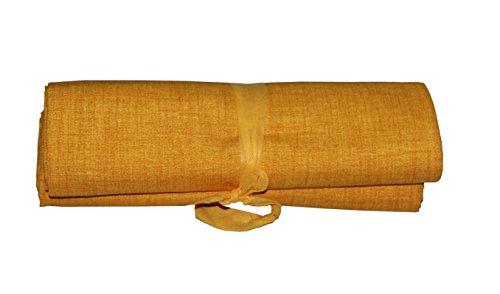 BA Grandfoulard-Telo Tagesdecke für Sofas, einfarbig, 240 x 260 cm, Farben zur Auswahl gelb