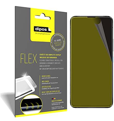 dipos I 3X Schutzfolie 100prozent kompatibel mit Asus Zenfone 8 Flip Folie I 3D Full Cover Bildschirmschutzfolie