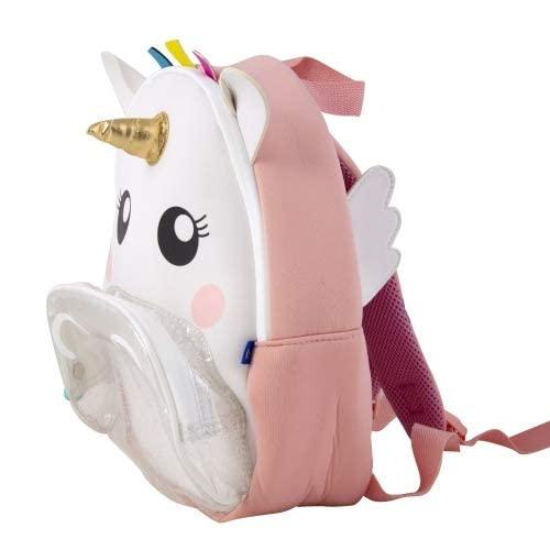 Imaginarium Mochila de Unicornio para niñas Impermeable y de Neopreno