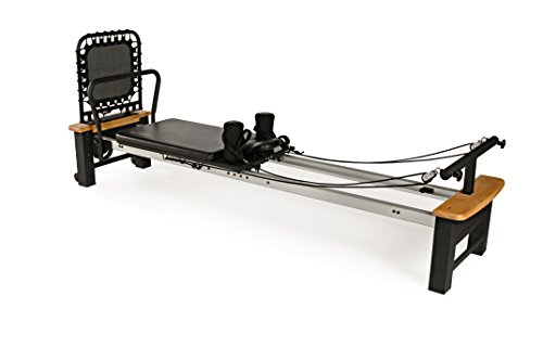 AeroPilates Pro XP 556 Home Pilates Reformer with Free-Form Cardio Rebounder