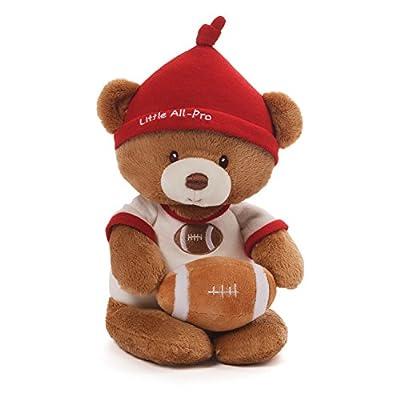 Gund Baby Teddy Bear and Rattle