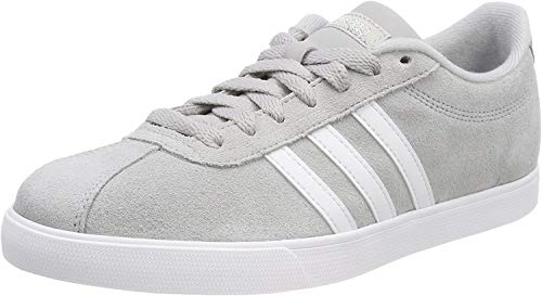 Adidas Courtset, Zapatillas Mujer, Gris (Grey/Footwear White/Silver Metallic 0), 38 EU