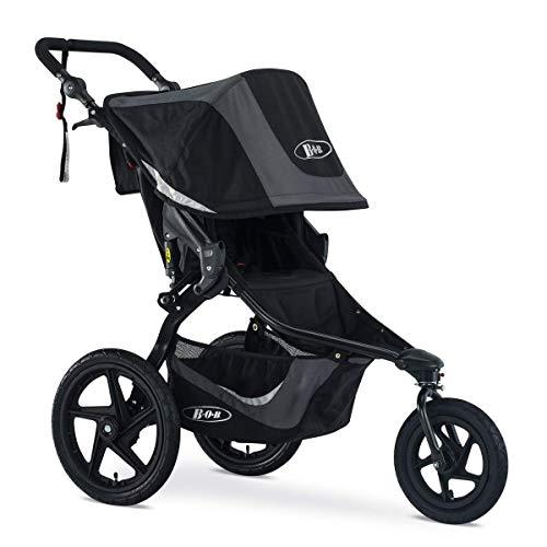 BOB Revolution Flex 3.0 Jogging Stroller, Graphite Black [Old Version]
