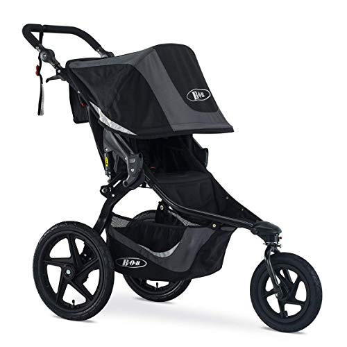 BOB Revolution Flex 3.0 Jogging Stroller, Graphite Black [Old Version]