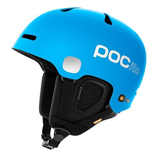 POC Pocito Fornix, Casco da Sci Alpino Unisex-Bambini, Blu Fluorescente, XS/S
