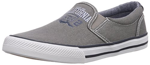 TOM TAILOR Kids Jungen Kinderschuhe Slipper, Grau (Grey), 32 EU