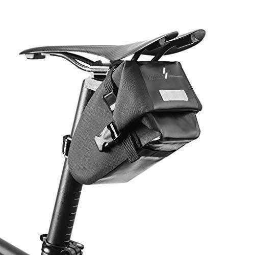 Abcidubxc Bolsa para cuadro de bicicleta, bolsa para sillín de bicicleta MTB Bike Cycling Riding, impermeable, maletín de almacenamiento