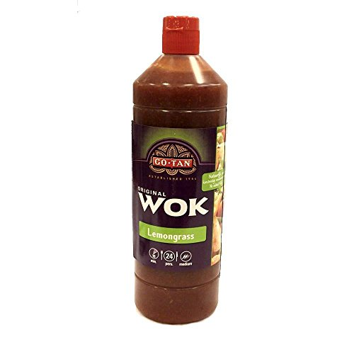 GoTan Original Wok 'Lemongrass' Sauce 1000ml Flasche (Zitronengras Sauce)