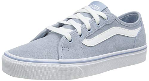 Vans Filmore Decon, Zapatillas para Mujer, Azul ((Suede) Blue Fog/True White Xoe), 36.5 EU